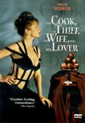 Cook, The Thief, His Wife and Her Lover, The cover