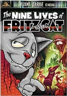 Nine Lives of Fritz the Cat, The cover